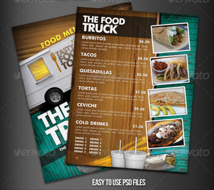 food-truck-menu-flyer