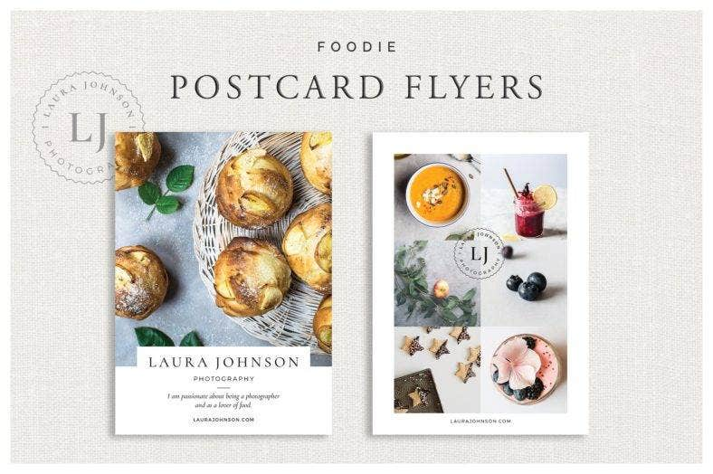 foodie postcard flyer 788x524