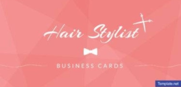 20 Hair Stylist Business Card Designs