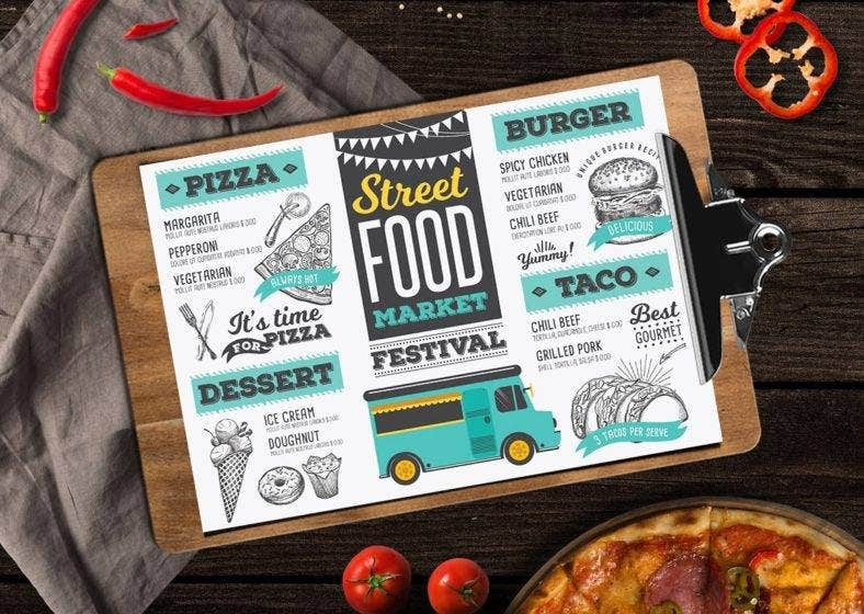 hand-drawing-food-truck-menu