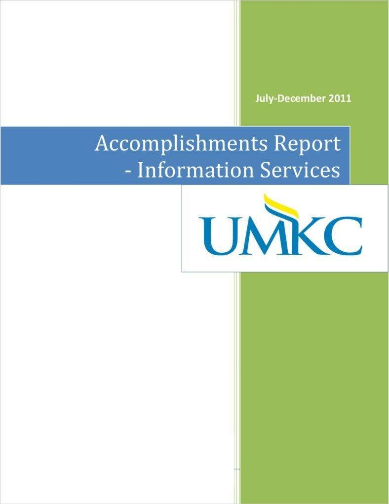 Accomplishment Report Sample  Accomplishment Report Format