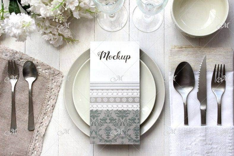 light table place card mockup 788x525
