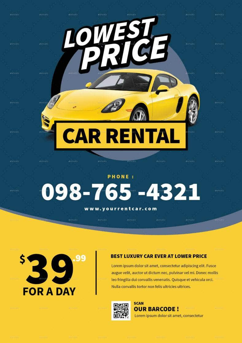luxurious-car-rental-flyer