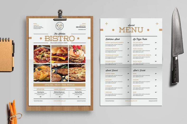 minimal-food-and-drink-menu