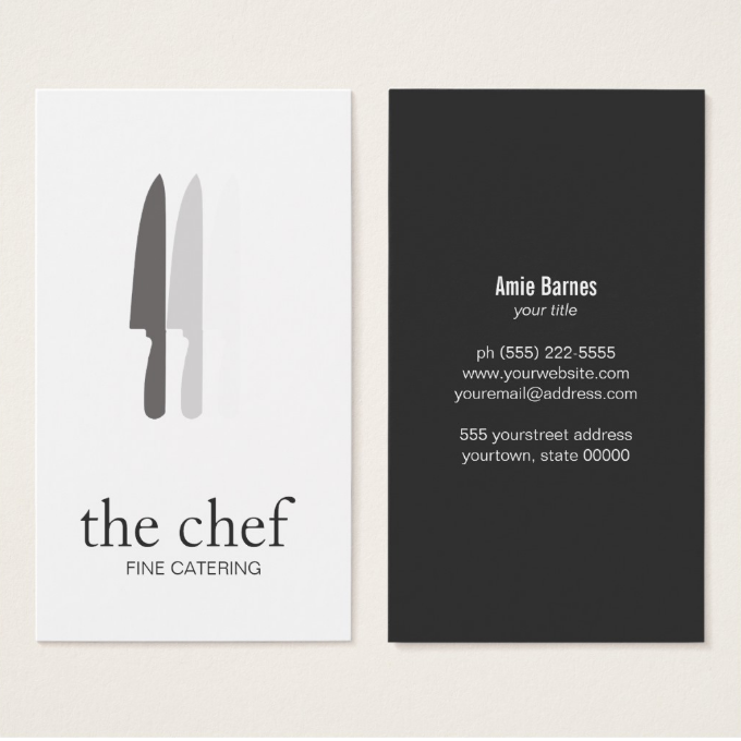 minimalistic-catering-business-card