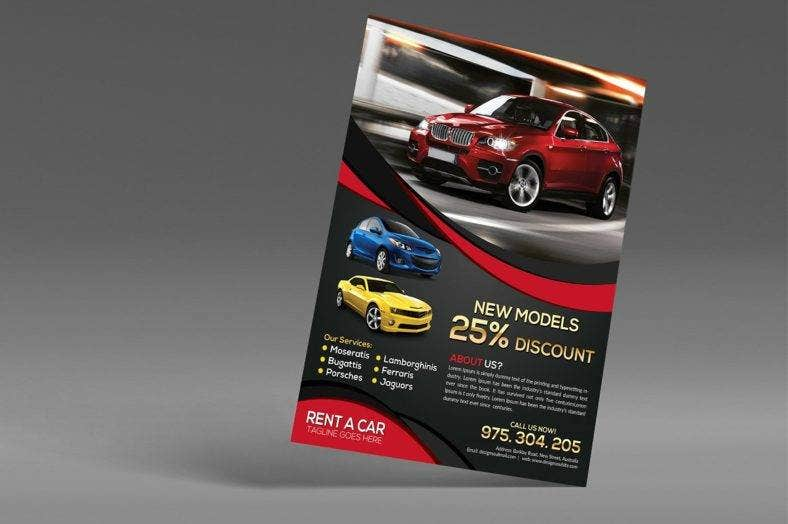 modern-car-rental-flyer