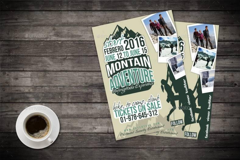 mountain-climbing-adventure-flyer