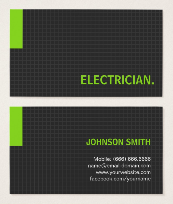 multipurpose-electrician-business-card