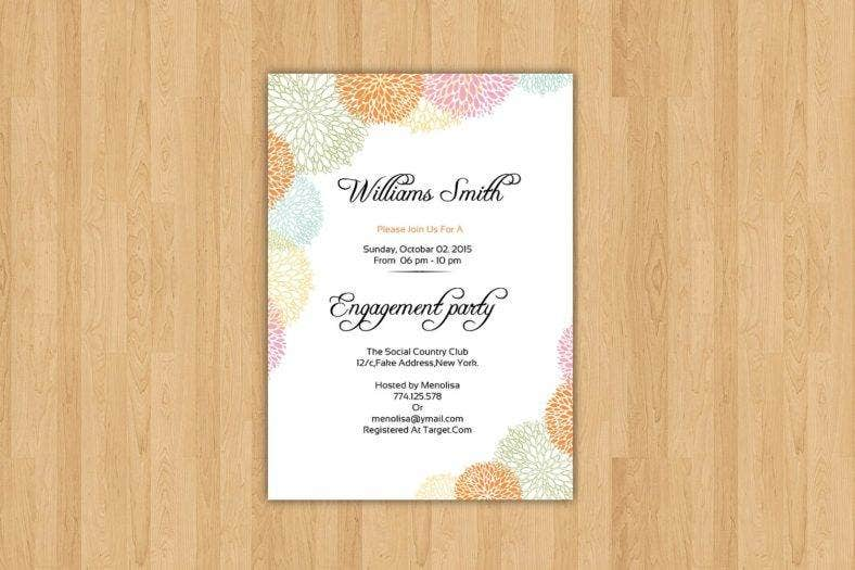 neat engagement invitation card 788x525