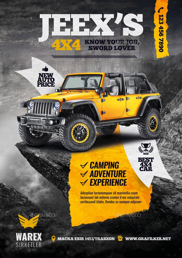 off-road-adventure-flyer