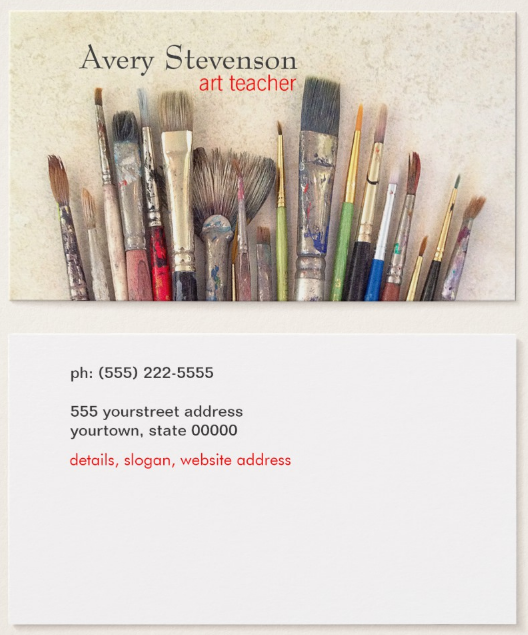 paint-brushes-painter-business-card