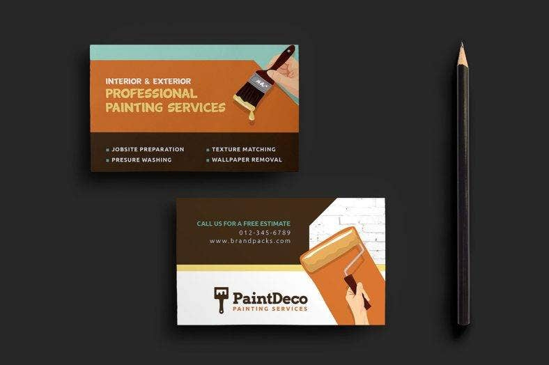 painter-and-decorator-business-card