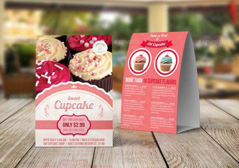pastries table tent card 788x556