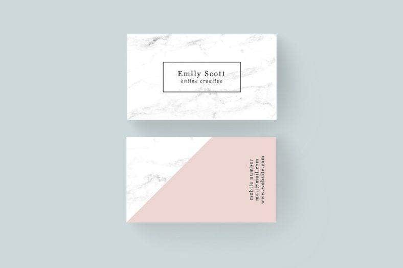 13 creative business card designs templates psd ai free marble creative business card preview1 buy now 4 reheart Choice Image