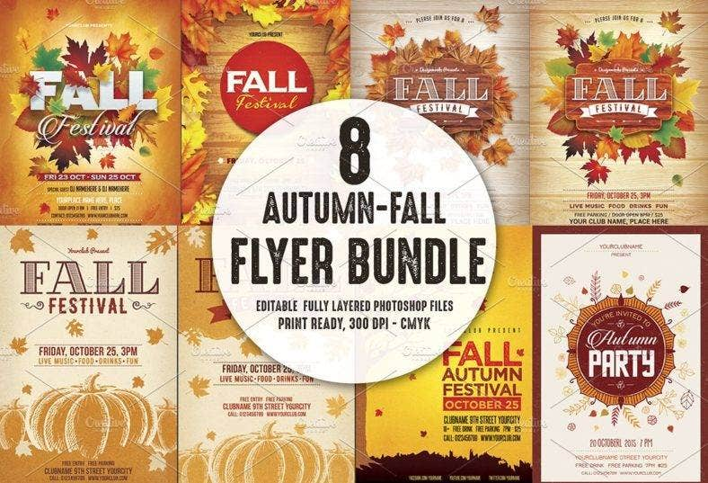 10 Autumn Flyer Designs Templates Psd Ai Free Premium