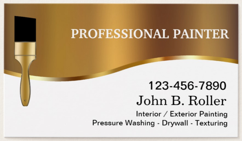professional-painter-business-card