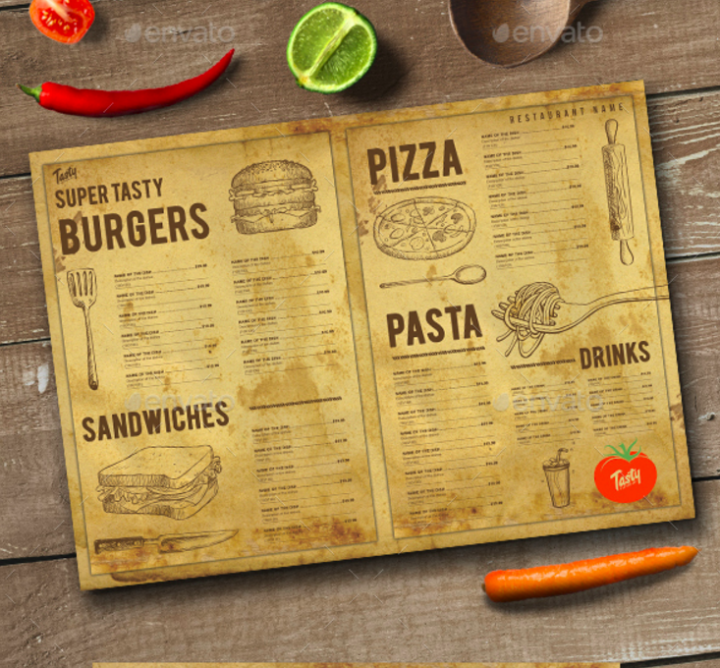 rustic-food-and-drink-menu