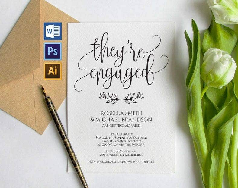 simple-engagement-invitation-card