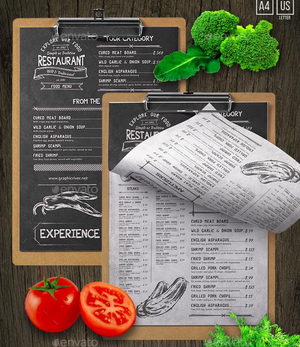 sketch food and drink menu