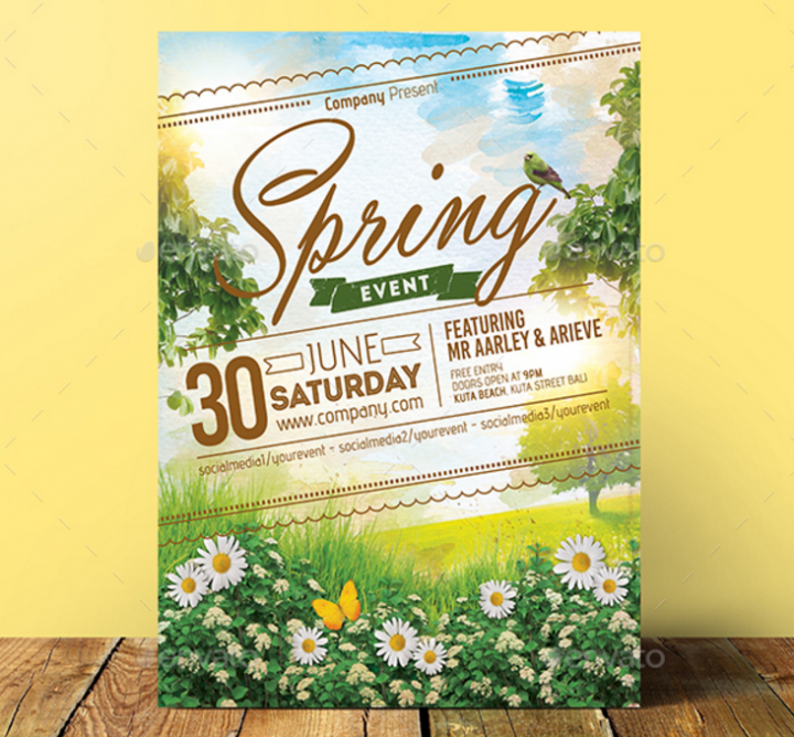 spring-event-invitation-card