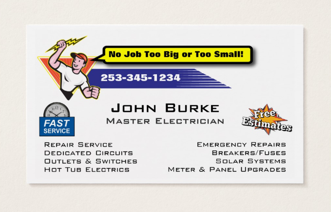 straightforward-electrician-business-card