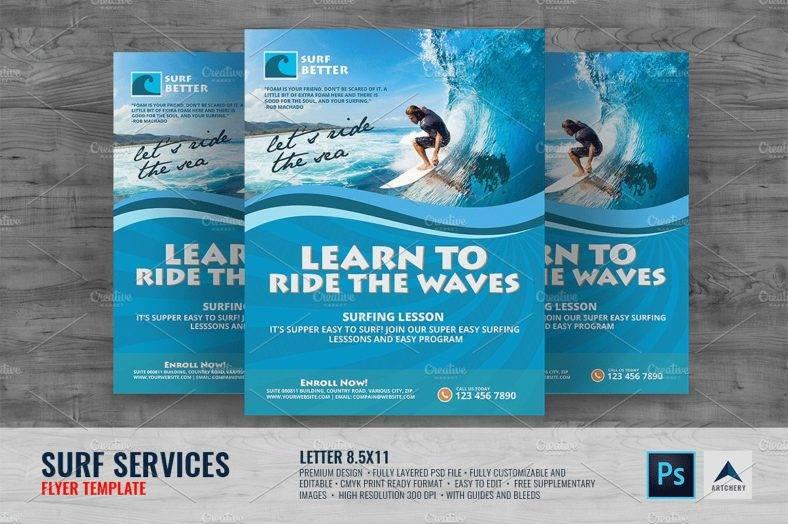 surfing-lesson-adventure-flyer
