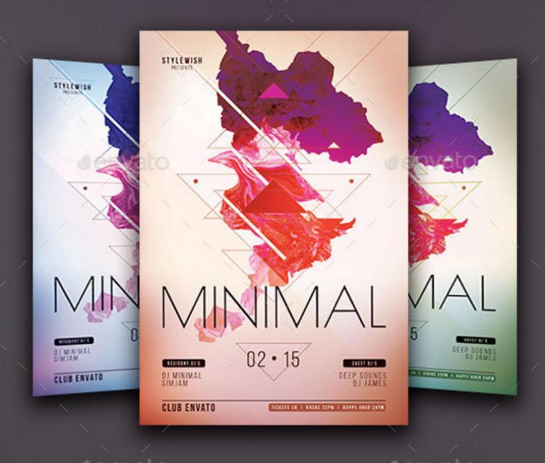 techno-minimal-flyer
