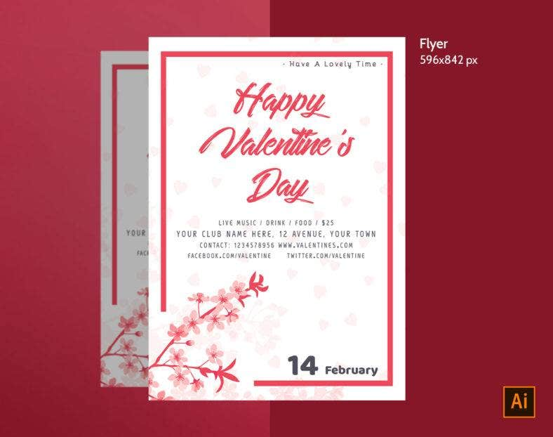 valentines day flyer 788x622