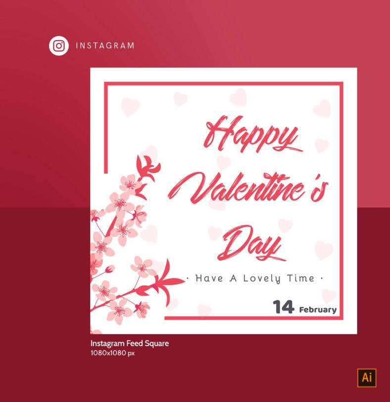 valentines day instagram post 788x813