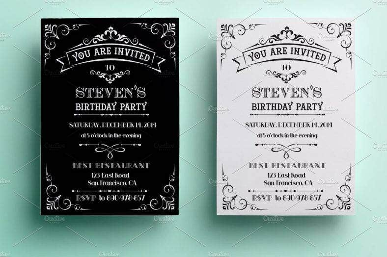 16  event invitation card designs  u0026 templates