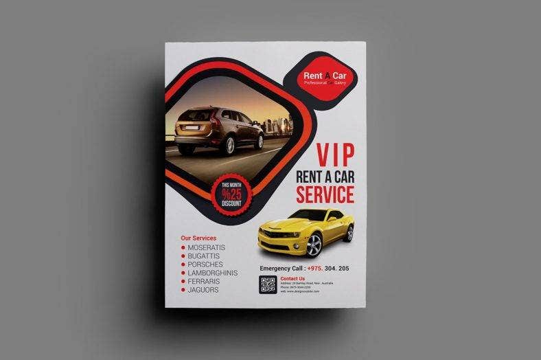 vip-car-rental-flyer