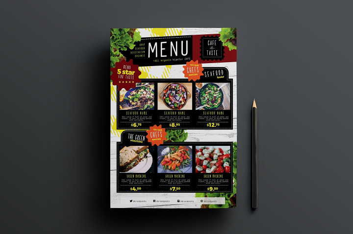 a4-salad-menu-template