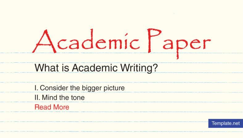 Academic Paper