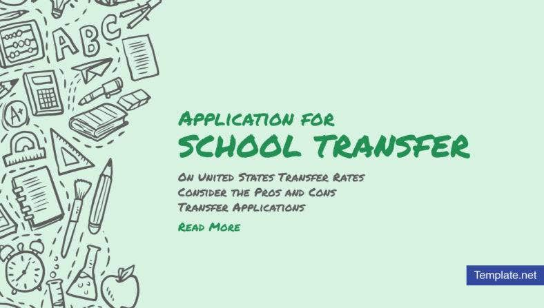application-for-school-transfer-templates