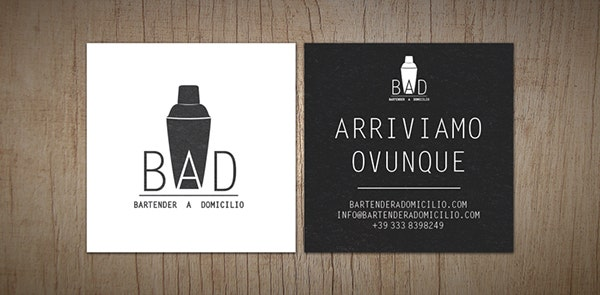 Bar and Restaurant Business Card