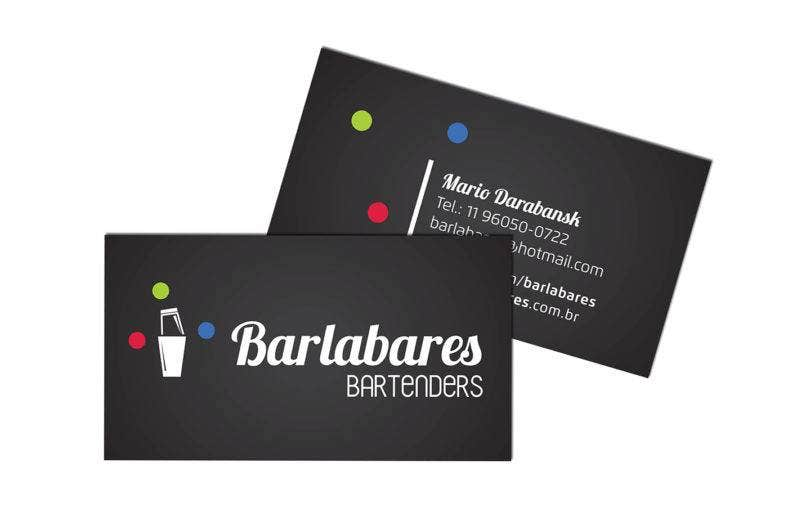 Bartender Business Card with Visual identity