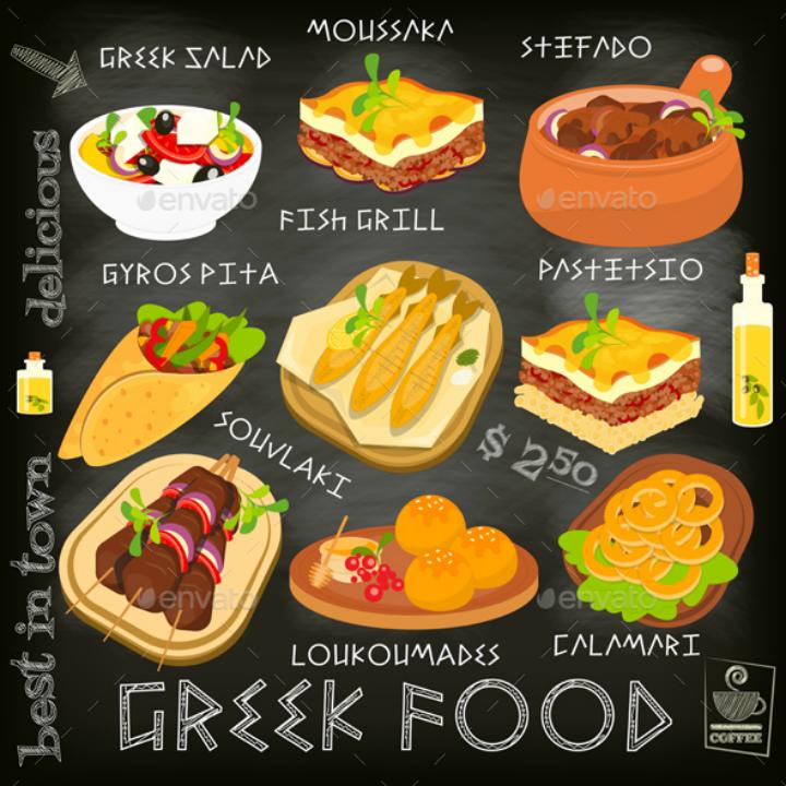 black-background-greek-food-menu-template