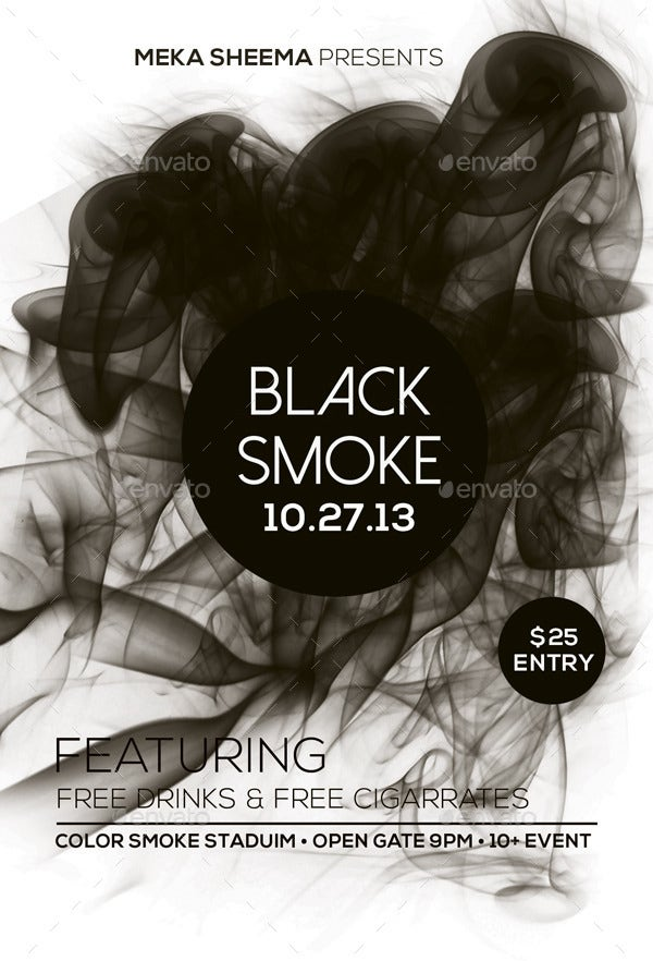 Black Smoke Flyer