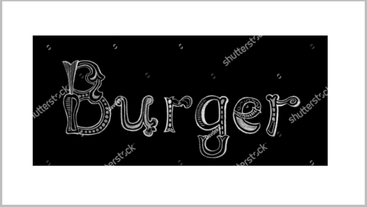 burger-restaurant-word-name-board-vector-template
