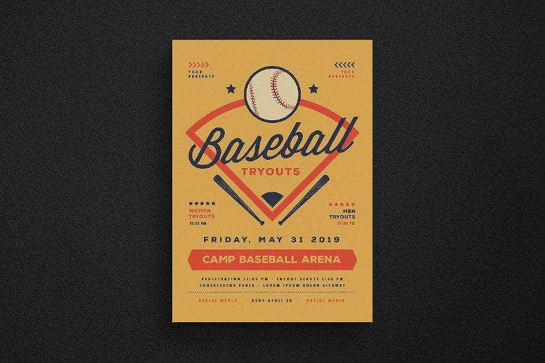 camp baseball tryouts flyer 788x525