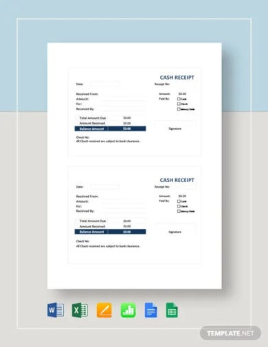 cash receipt template3