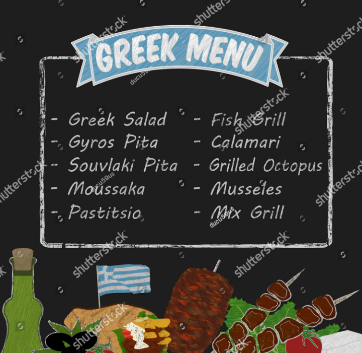 chalkboard-vector-greek-menu-template