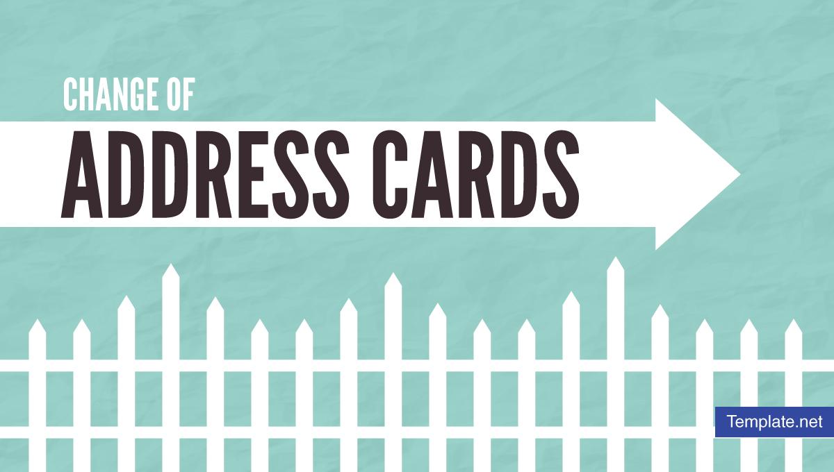 changeofaddresscarddesignstemplates