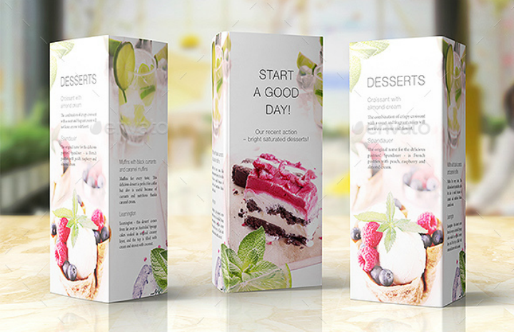 cheerful-table-talker-restaurant-promotional-card-template