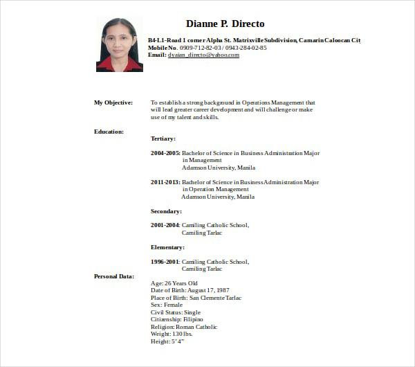 12  secretary resume templates