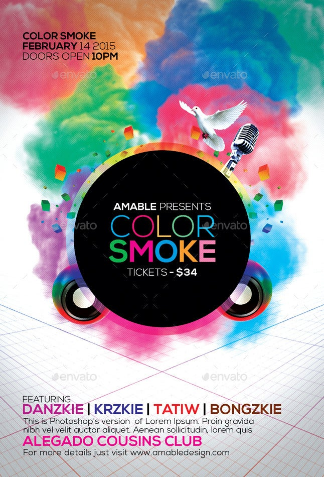 Color Smoke Flyer