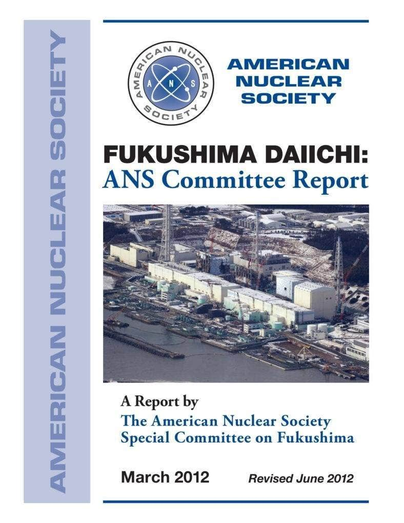 Committee Report on Fukushima