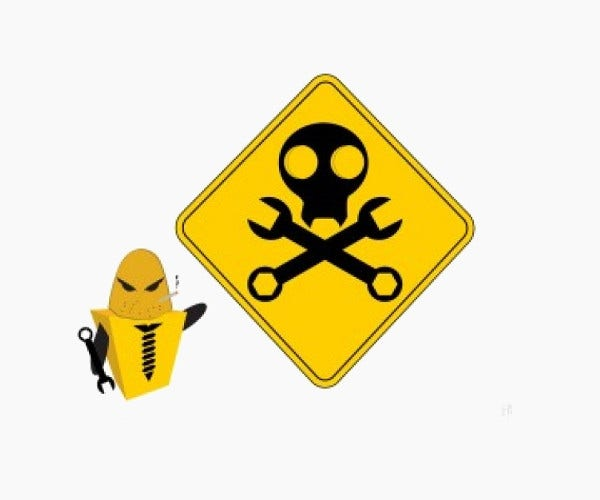 Construction Danger Sign