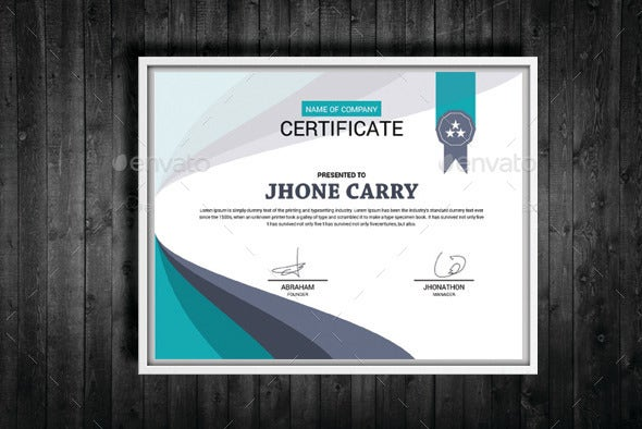 Creative Training Certificate Template