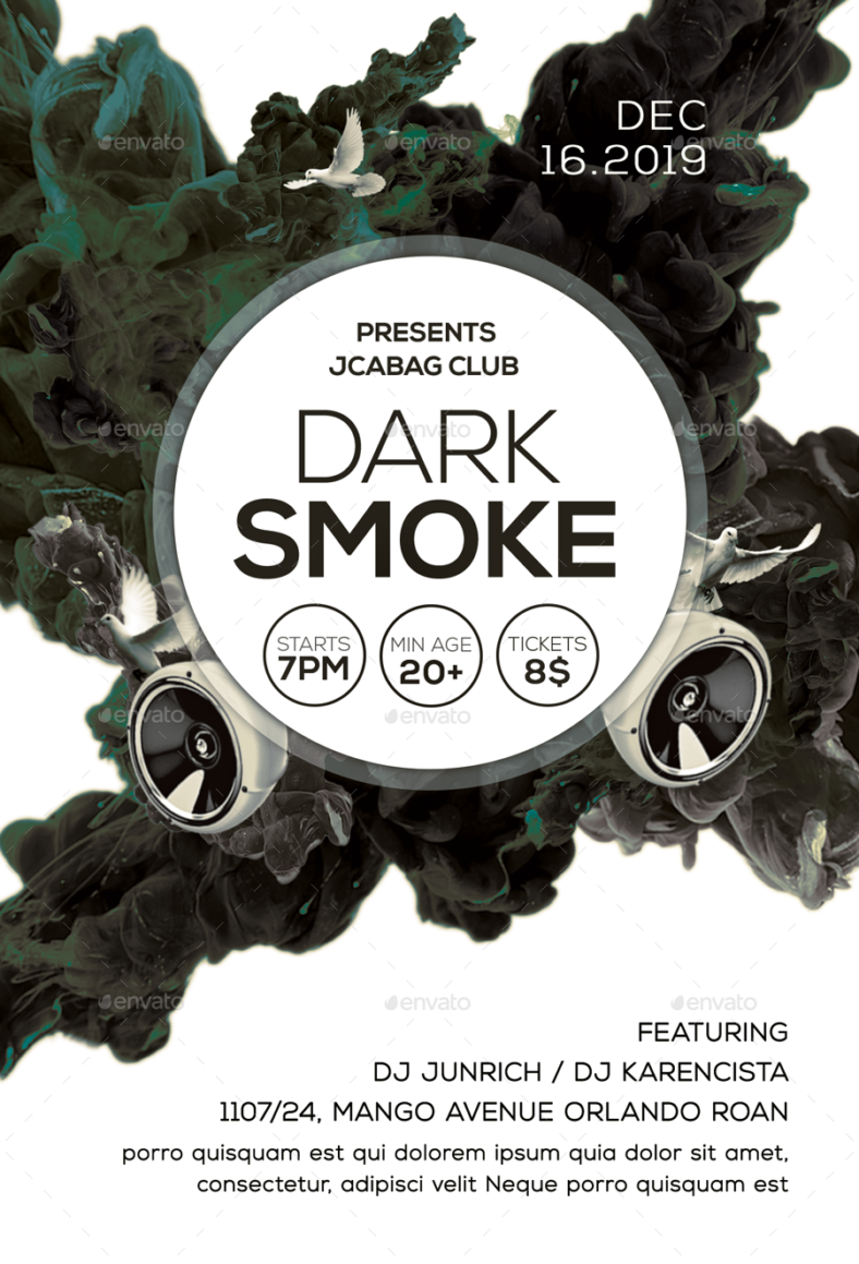 Dark Smoke Flyer